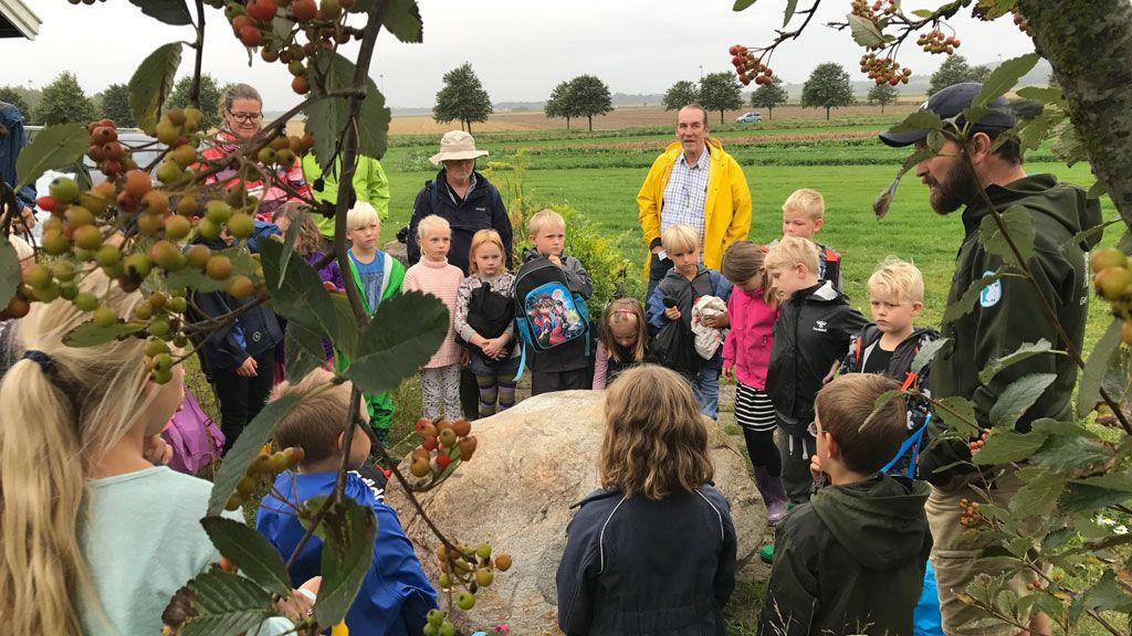 Geopark Odsherred tilbyder lærings-forløb lige på stedet!