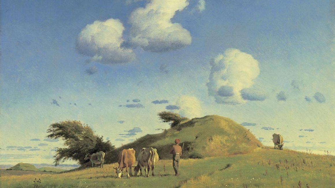 Johan Thomas Lundbye | Efterårslandskab, 1846-47 | Den Hirschsprungske Samling