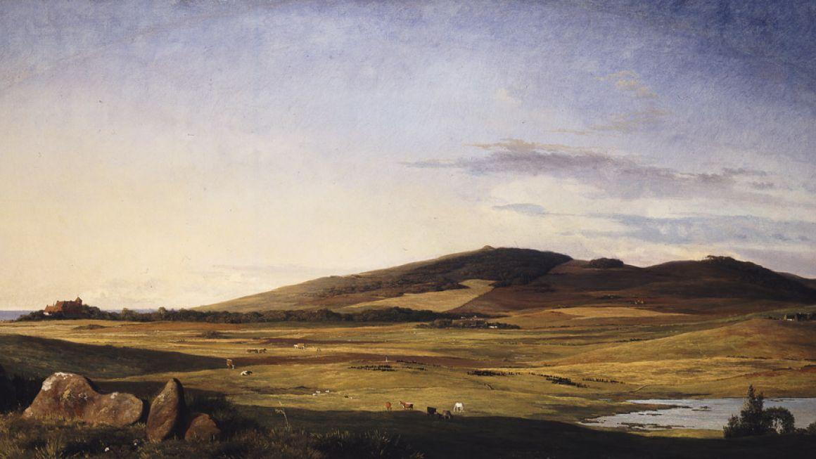 Johan Thomas Lundbye | Sjællandsk Landskab, 1840 | Ny Carlsberg Glyptotek, København