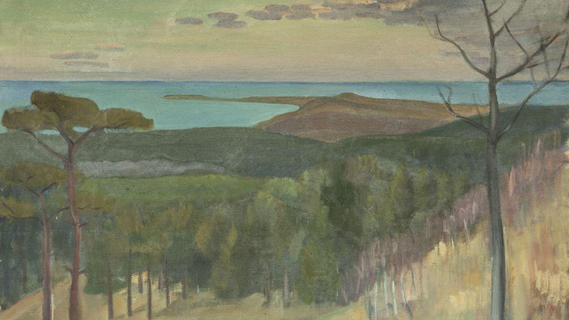 Viggo Rørup | Sejerøbugten, 1935 | Odsherreds Kunstmuseum