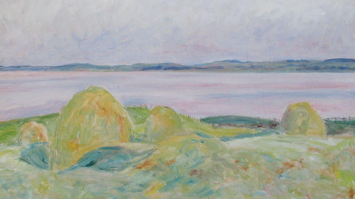Sigurd Swane | Mod aften ved fjorden, 1937 | Malergården